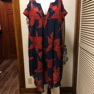 New eShatki Hawaiian 🌺 Print Dress 24W